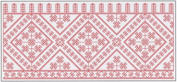 Схемы для вышивки в технике