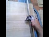 Рез плитки на итальянском, механическом плиткорезе
