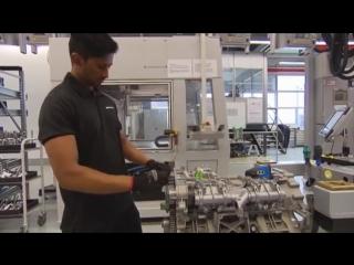 Завод AMG. Сборка двигателя m157 для S63 AMG