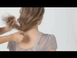 Как сделать прическа Боб на длиных волосах