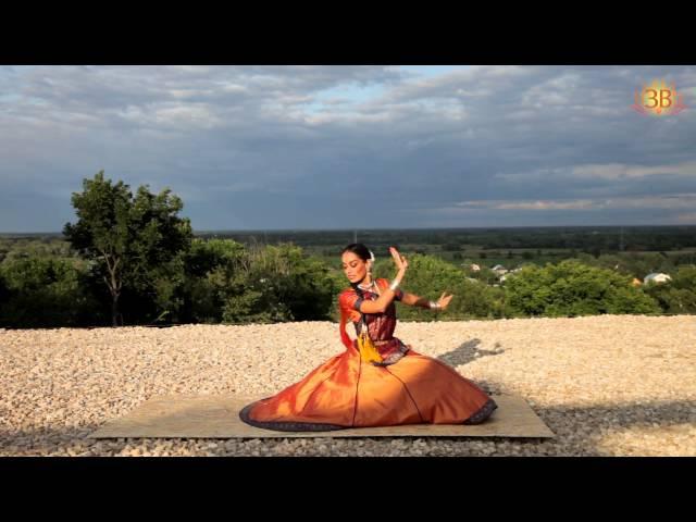 Индийский танец в стиле Kathak.