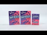 Wonka Nerds, Strawberry & Grape - Tiny Tangy Crunchy Candy!