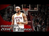 LeBron James Full Highlights 2015.02.05 vs Clippers - NASTY 23 Pts, 9 Assists in 27 Minutes!