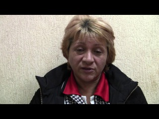 Освобождены из украинского плена 27.12.2014. Рассказ женщины-ополченца Вербицкой О.Е.
