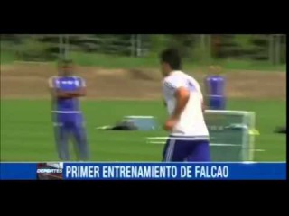Radamel Falcao & Juan Cuadrado for training l Я там, где Челси | Chelsea