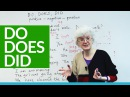 Basic English – How and when to use DO, DOES, and DID