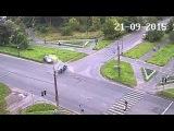 Авария в Петрозаводске 21 09 2015  группа: http://vk.com/avtooko сайт: http://avtoregik.ru Предупрежден значит вооружен: Дтп, ав