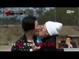 Block B Zico kissing U-Kwon