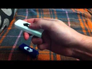 Бюджетная USB зажигалка (заряжается от USB и не требует бензина или газа)