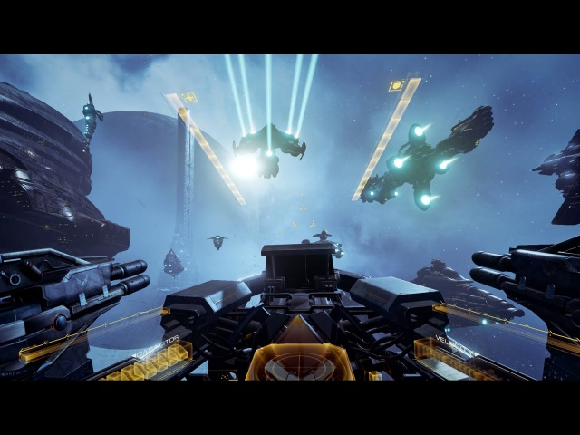 EVE: Valkyrie VR Gameplay Trailer Pre-Alpha - Fanfest 2015