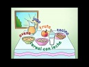 Comida [Learn the names of foods in Spanish!] - Calico Spanish Songs for Kids
