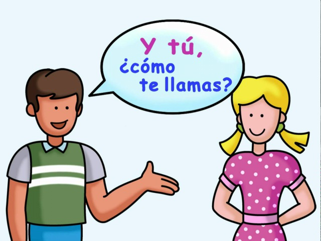 What is your name? - ¿Cómo te llamas? - Calico Spanish Songs for Kids