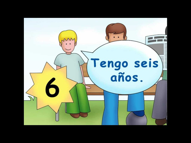How old are you? - ¿Cuántos años tienes? - Calico Spanish Songs for Kids