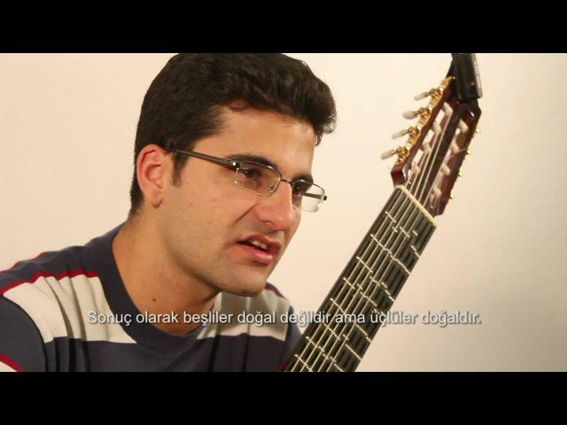 Microtonal Guitar Adjustable Tolgahan Çoğulu Just Intonation Pythagorean Meantone