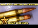 Shooting Bullets Loaded Backwards