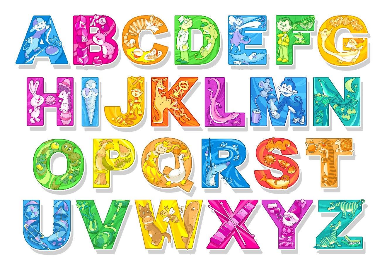 Английские буквы для детей - от A до Z - Поделки своими руками 91