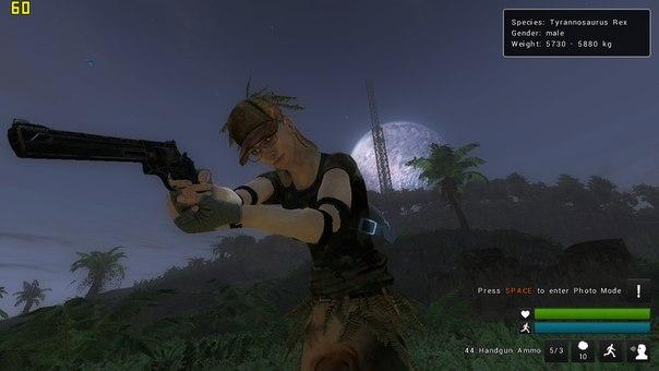 На территории разрушенной армейской базы в игре theHunter: Primal можно найти и камуфляж и мощный револьвер.