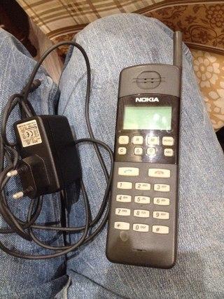 Нашел у друга Nokia THF-8AM,