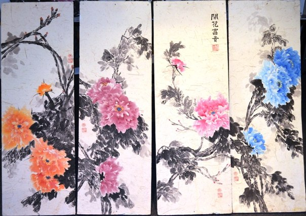 две империи китайская живопись: