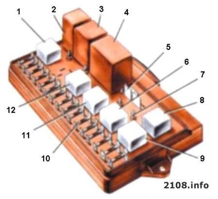звукового сигнала (К8)