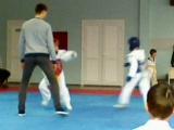 первый бой в спорткомплексе