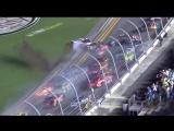 Авария в гонке