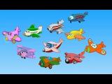 Edewcate english rhymes - Ten little aeroplanes