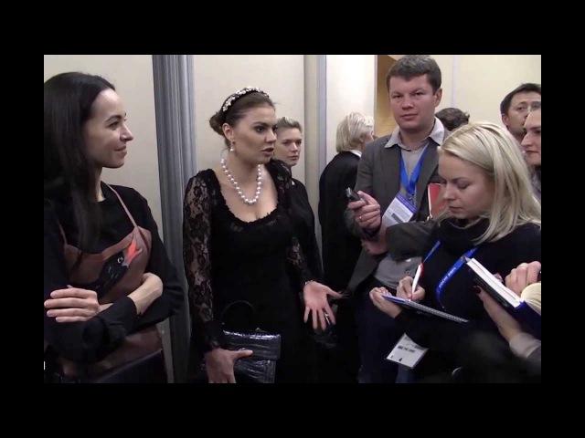 Кабаева с Путиным в сочинской резиденции Бочаров ручей 2