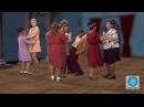 Маски шоу Танцы в сельском Клубе