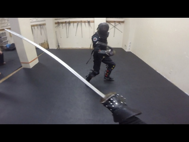 Expert Saber Sparring Lee Smith vs Richard Marsden