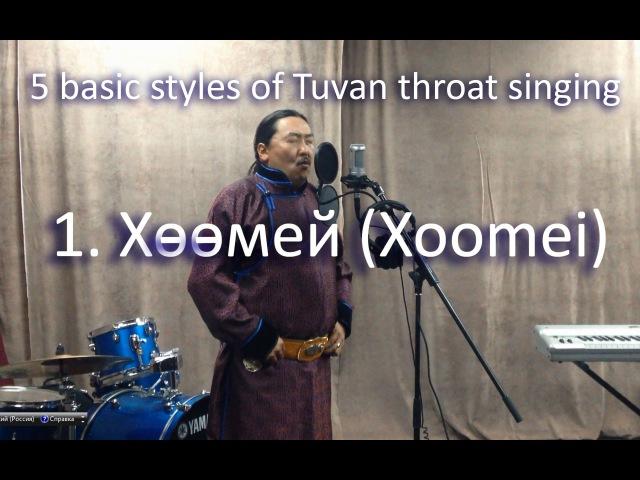 Tuvan throat singing Тувинское горловое пение Хөөмей Khoomei