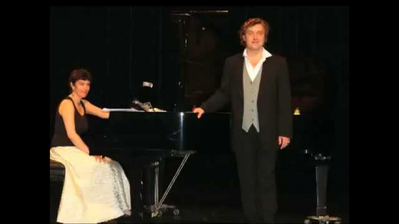 Alexis Vassiliev Counter tenor Tchaikovsky Les lettres brûlées piano Katia Nemirovitch