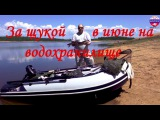 За щукой на водохранилище 12 июня 2015 FISHINGALTSEV