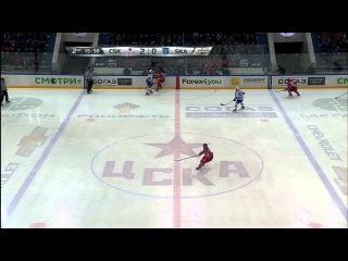 SKA @ CSKA 03/26/2015 Highlights /ЦСКА - СКА 3:0 / Запад, Финал, Счет в серии 1:0