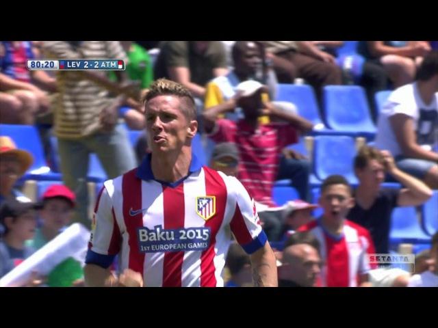 Fernando Torres vs Levante Away HD 720p (10/05/2015) by MNcomps