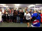 Открытая тренировка Мигеля Котто перед боем с Саулем Альваресом