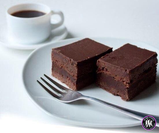 Брауни   БЖУ на 100гр: 7/5/6  -100гр какао -2 яйца -сахарозаменитель -300мл воды  Залить...