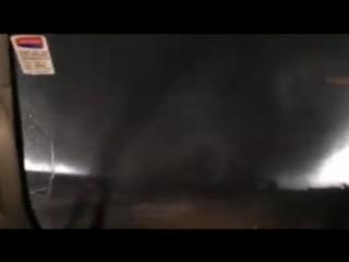 Торнадо над штатом Иллинойс. США