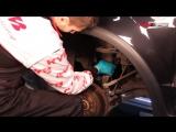 SUZUKI SX4 и FIAT Sedici замена передних амортизаторов