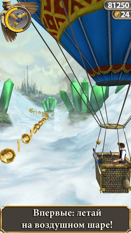 Temple Run: Oz (темпл ран) на Андроид