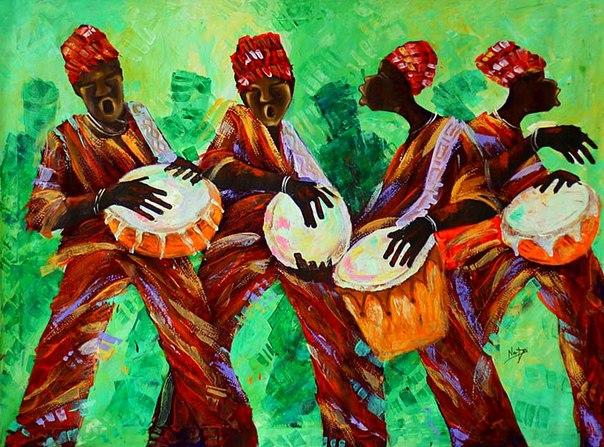 Африканская дискотека.