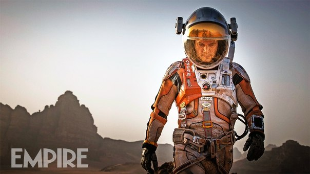 Официальные кадры и фото со съемок «Марсианина» Ридли Скотта из июльского номера Empire: