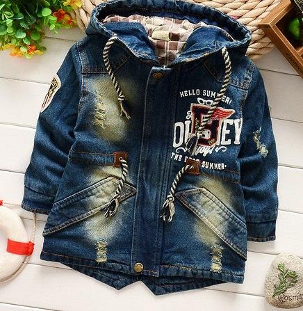 Купить Детские Джинсовые Куртки