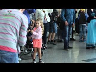 День защиты детей. Флешмоб в аэропорту Внуково