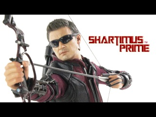 Hot Toys Hawkeye Marvel's Avengers Age of Ultron 1:6 Scale Movie Masterpiece Action Figure Review
