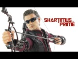 Hot Toys Hawkeye Marvels Avengers Age of Ultron 1:6 Scale Movie Masterpiece Action Figure Review
