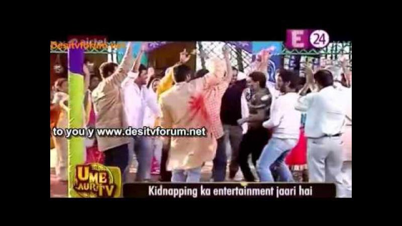 Gungo Se Bachne Abhi Pragya ne liya Holi Celebration Main Part