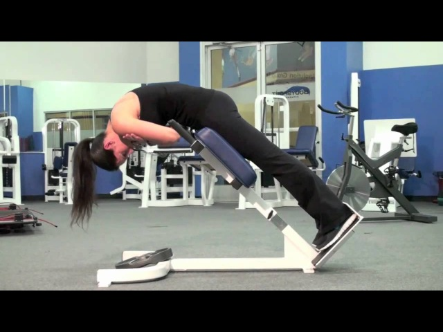 Glute Hyperextensions