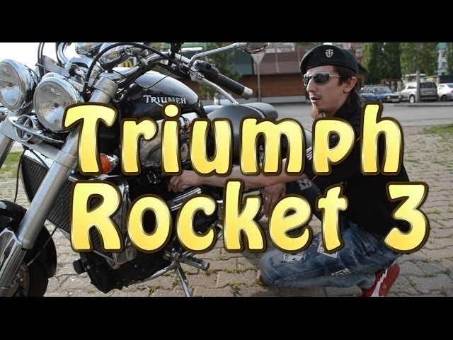 Докатились Тест драйв Triumph Rocket 3 Жим лежа на утюге