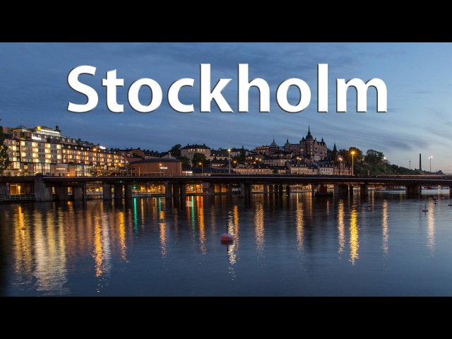 Stockholm The majestic capital of Scandinavia timelapse 4k
